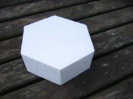 Taartvorm zeskant doorsnede 7,5 cm