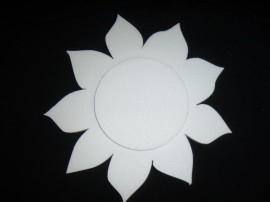 Zonnebloem 2 delig 40 cm.