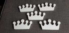 Set kroontjes (5 stuks).