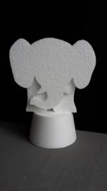 circus olifant met podium