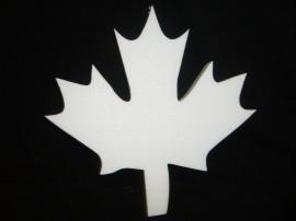 Herfstblad, hoogte 12 cm