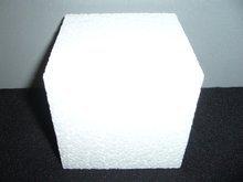 Piepschuim kubus 10 cm