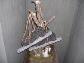 Schaatsen (één paar Noren), lengte 35 cm
