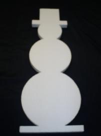 Sneeuwman, hoogte 98 cm