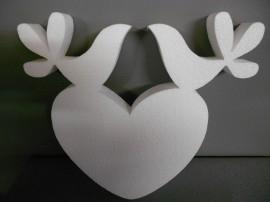 Lovebirds 27cm.