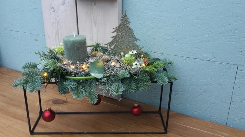 Rechthoekige kerst