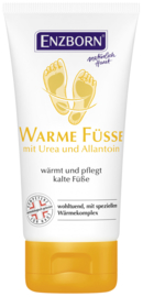 Enzborn  Warme Fusse Salbe (warme voetenzalf) 75 ml. tube
