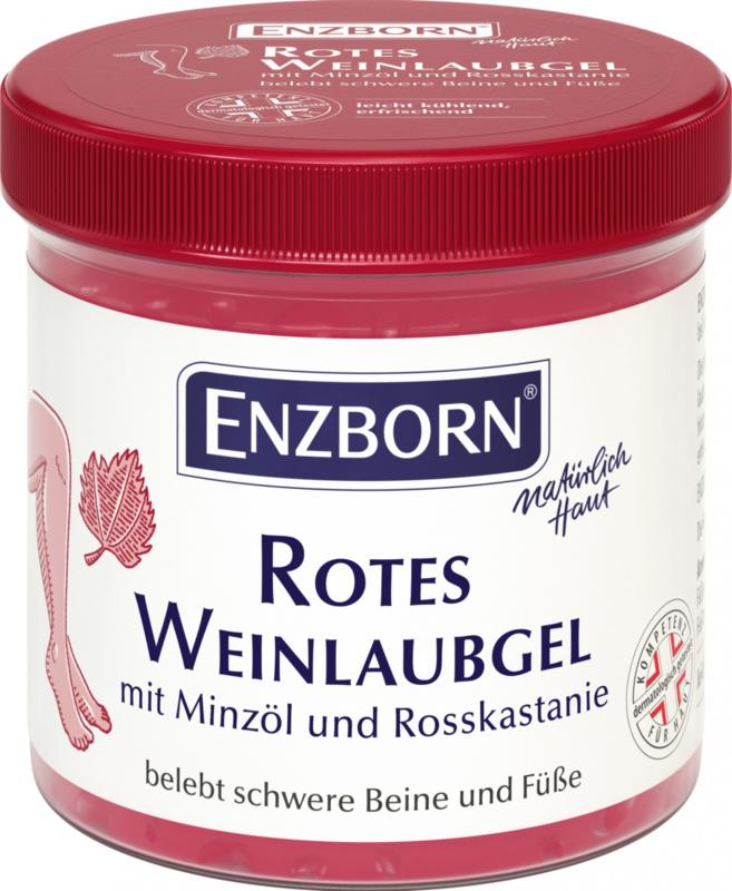 Enzborn Rode wijnbladeren gel
