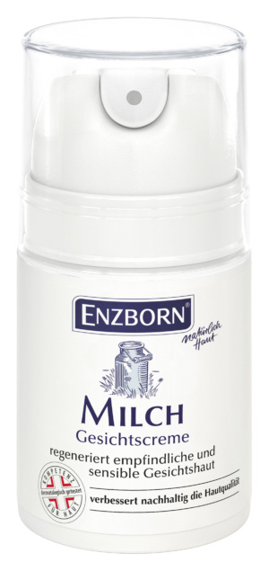 Enzborn melk-gezichtscrème