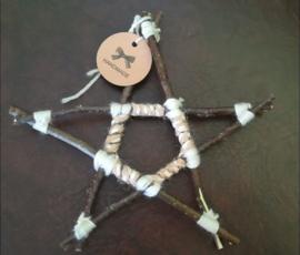 Pentagram Appelboom Hout