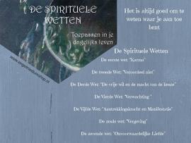 Spirituele Wetten toepassen in je dagelijkse leven (paperback)