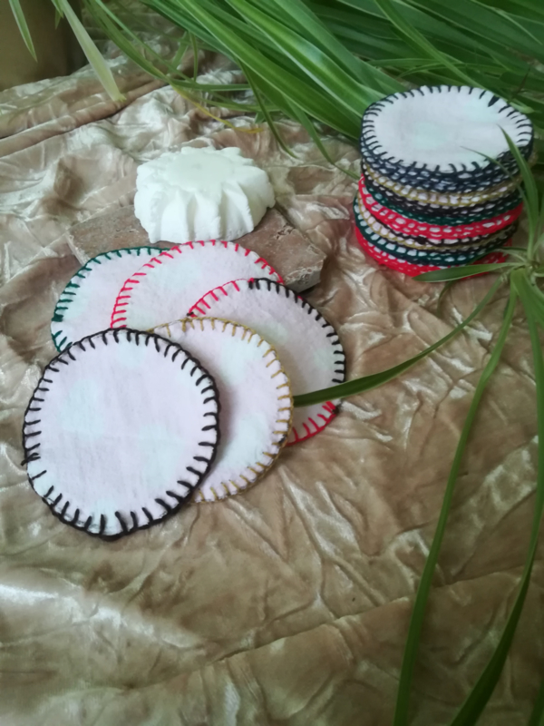 Recyceld/ Reusable Make Up Pads