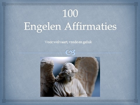 E-boek '100 Engelen Affirmaties'