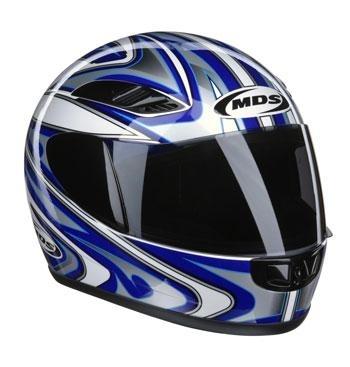 MDS, blauwe edge helm