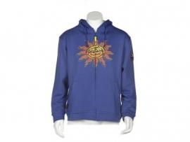 Valentino Rossi - Hood Blue Sweatshirt Sun