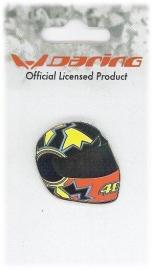 Valentino Rossi - Helmet Metal Pin