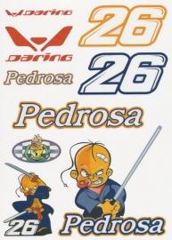 Dani Pedrosa-  Stickers