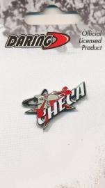 Carlos Checa  - Logo / Name  Metal Pin