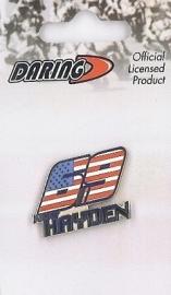 Nicky Hayden -   69 Metal Pin
