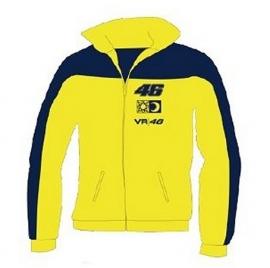Valentino Rossi -  Yellow/Black Logo Zip Sweatshirt