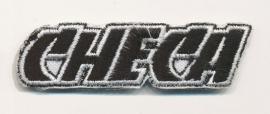 Carlos Checa - Geborduurde badge - Name