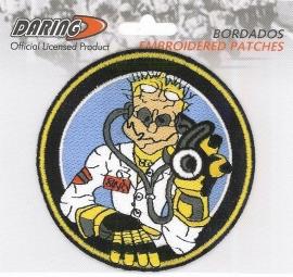 Valentino Rossi - Geborduurde badge - The Doctor Groot