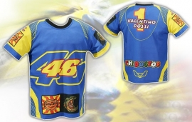 Valentino Rossi - Race Suit Blue T-shirt