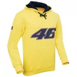 Valentino Rossi - 46 Yellow Hooded Fleece Shirt