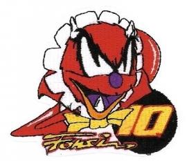 Fonsi Nieto - Geborduurde badge - Helmet / Logo
