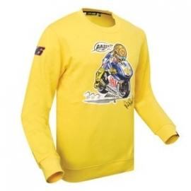 Valentino Rossi - Moto Yellow Fleece Shirt