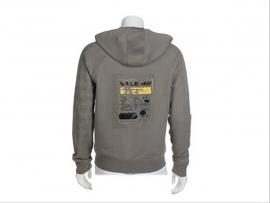 Valentino Rossi - Gothic Hooded Kaki Sweatshirt