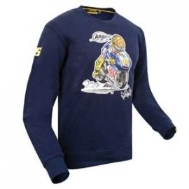 Valentino Rossi - Moto Blue Fleece Shirt