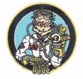 Valentino Rossi - Geborduurde badge - The Doctor klein