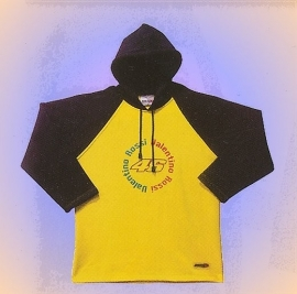 Valentino Rossi - 46 Name Hooded Sweatshirt