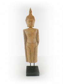 Staande Boeddha Teakhout (402)