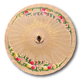 Handgemaakte oosterse parasol