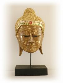 Boeddha masker op staander (416)