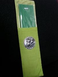 10 wierookstokjes in een zijden zakje - 20 cm