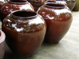 Birmese potten