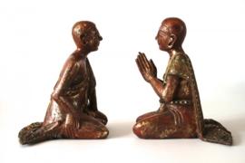 Set van 2 monnikken (4-681 A & B)