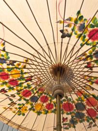 Handgemaakte bamboe parasol