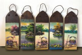 Wandpaneel / Thaise dakpan