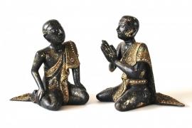 Set van 2 monnikken (4-635 A & B)