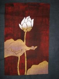 Fair-trade katoenen tas `Lotus`