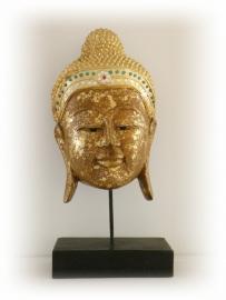 Boeddha masker op staander (417)