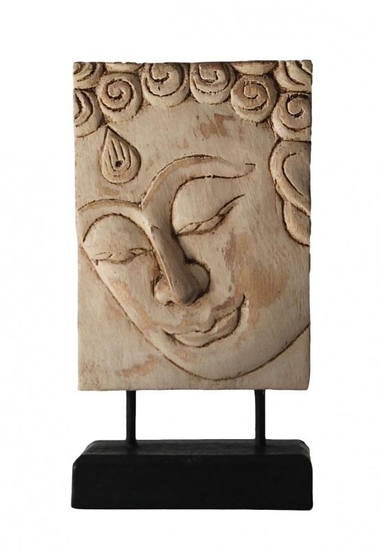 Boeddha paneel op stander (B-02 / 13 X 18 cm)