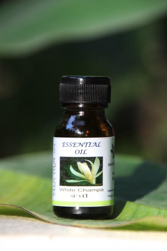 Essential oil `White Champa`