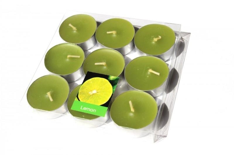 Waxinelichtjes `Lemon`