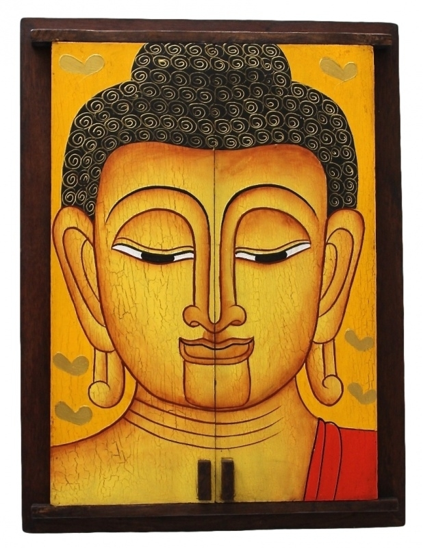 Spiegel 'Boeddha' (B-46)