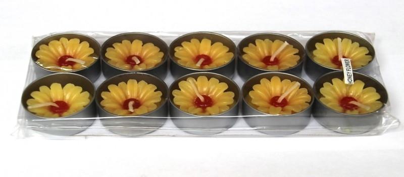 Geurkaarsjes (geel)